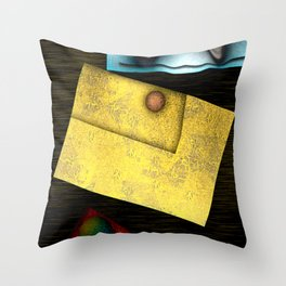 Geometric Sonification Throw Pillow