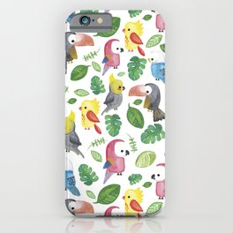 Wild Parrots iPhone Case