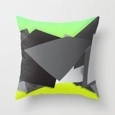 Spacejunk Throw Pillow