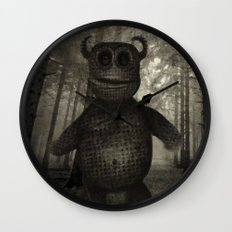 In the forest. Wall Clock