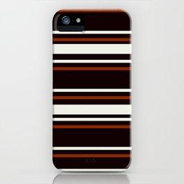 Classic Brown iPhone Case