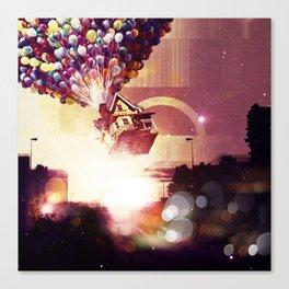 |UP| Canvas Print
