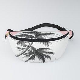 Les Tropiques Pink Fanny Pack