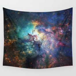 Lagoon Nebula / Second Version Wall Tapestry