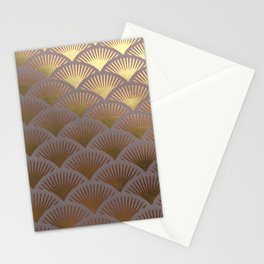Over the golden hills Stationery Cards