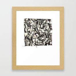 Teddysytem 03 Framed Art Print