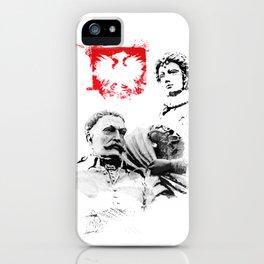 Polish King Jan III Sobieski & Marysienka iPhone Case