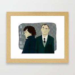 The Holmes Brothers Framed Art Print