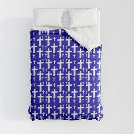Jerusalem Cross 6 Comforters