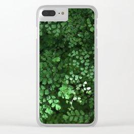 Maidenhair Clear iPhone Case
