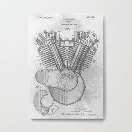 1919 Engine Metal Print