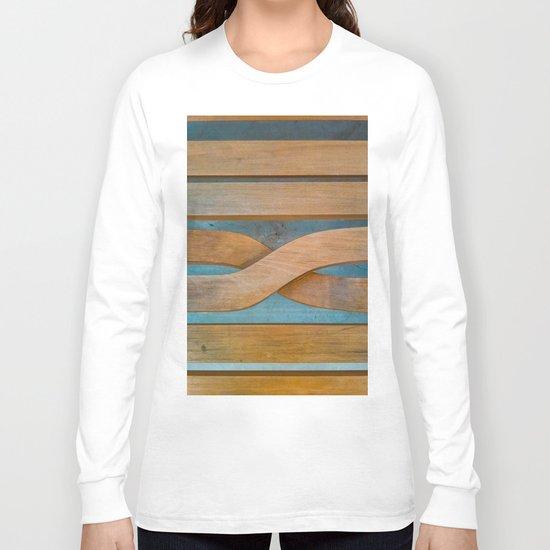 Cross the Wood Long Sleeve T-shirt