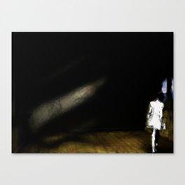 Empty room Canvas Print