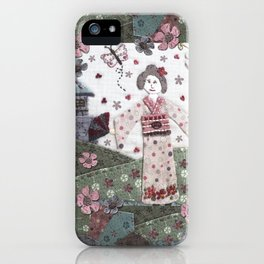 Konnichiwa iPhone Case