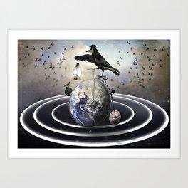 My Orbit Art Print
