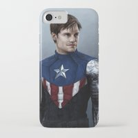 bucky iPhone & iPod Cases featuring Bucky by E Cairns Art