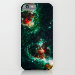 Heart and Soul Nebulae, Galaxy Background, Universe Large Print, Space Wall Art Decor, Deep Space iPhone Case
