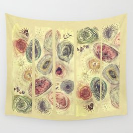 a walk at the beach Wall Tapestry