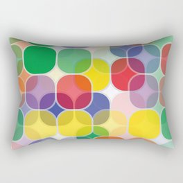 Colorful rectangle pattern Rectangular Pillow