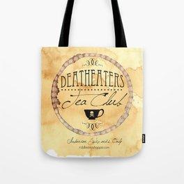 Riddle's Tea Shoppe Deatheaters Tea Club Tote Bag