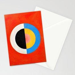 12,000pixel-500dpi - Hilma af Klint - Swan - Digital Remastered Edition Stationery Cards