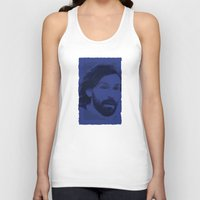 pirlo Tank Tops featuring World Cup Edition - Andrea Pirlo / Italy by Milan Vuckovic