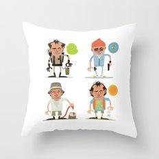Murrays Throw Pillow