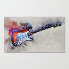 Electric Gitar Canvas Print