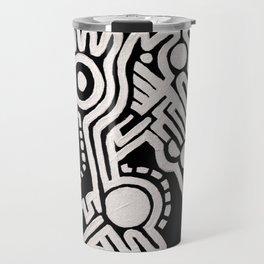 Frieze, Acrylic on Canvas Travel Mug