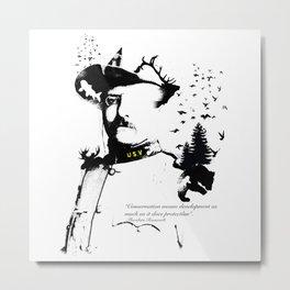 A man of the wild Metal Print