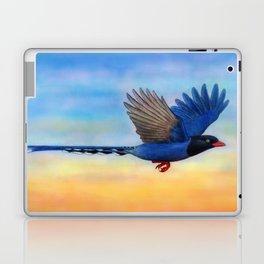 Taiwan Blue Magpies (2) Laptop & iPad Skin