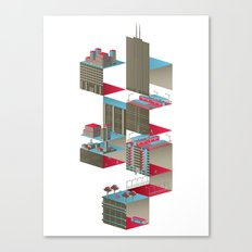 C-H-I-C-A-G-O Canvas Print