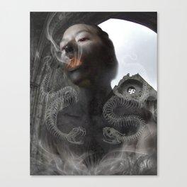 Cinder Child Canvas Print