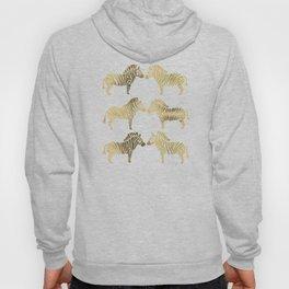 Golden Zebras Hoody