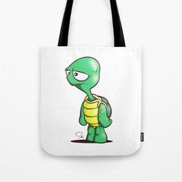 My Digital Zoo - Turtle  Tote Bag
