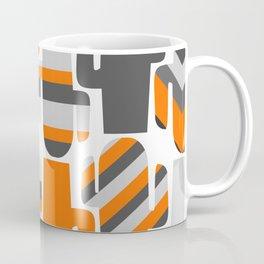 Modern striped cacti Coffee Mug