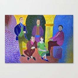 Algonquin Round Table Canvas Print