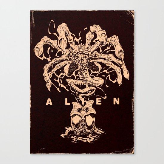 ALIEN: FACEHUGGER Canvas Print