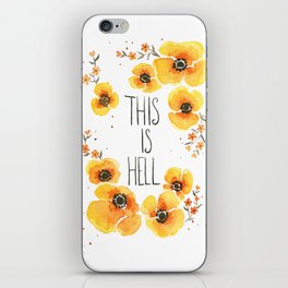 This is Hell iPhone Skin