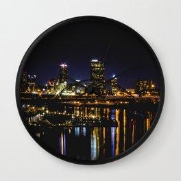 Pittsburgh I Wall Clock