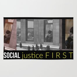 Social Justice First Rug
