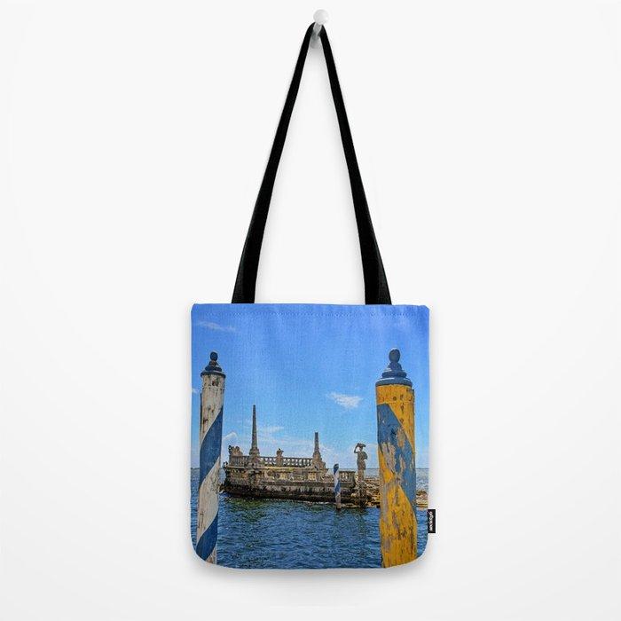 Vizcaya Barge Adventures Tote Bag