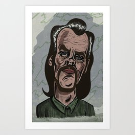 NICK CAVE Art Print