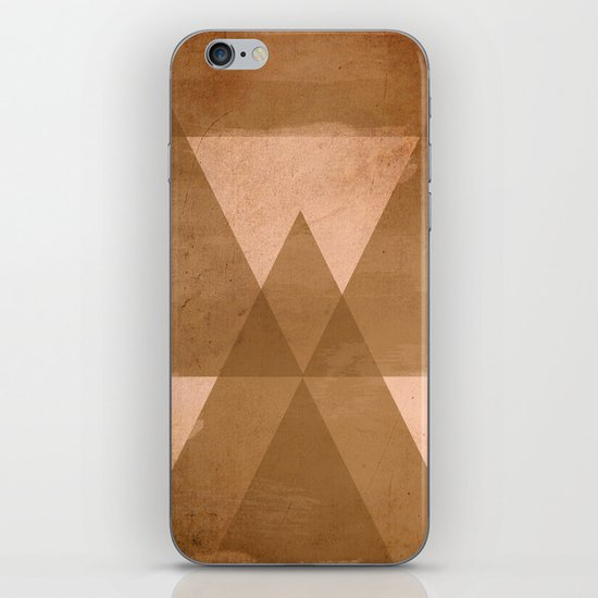 Distressed Triangles iPhone & iPod Skin