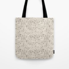 Resting foxes Tote Bag