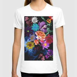 Colorful Fractal Flowers T-shirt