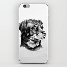 Rottweiler Devotion iPhone Skin