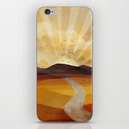 Desert in the Golden Sun Glow II iPhone Skin