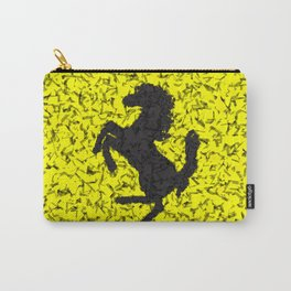 Yellow Homage To Ferrari Carry-All Pouch
