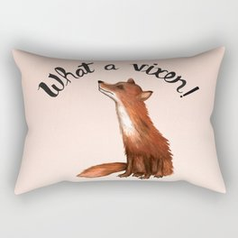 What a Vixen! Rectangular Pillow